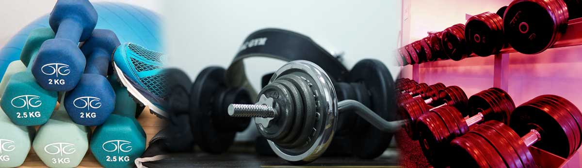 grip dumbbells barbells